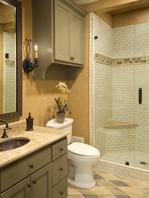 25 Best Mediterranean Subway Tile Bathroom Ideas & Decoration ...