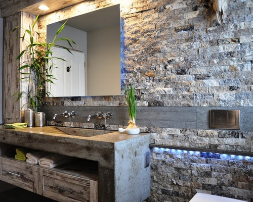 Rustic ottawa bathroom design ideas remodels photos for Bathroom design ottawa
