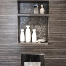 Contemporary Bathroom by CW Design, LLC