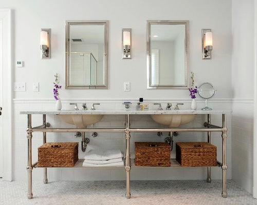 Bathroom Sconce Houzz - Sconce bathroom