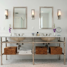 traditional bathroom by CW Design, LLC