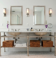 traditional bathroom by Cassia Wyner, CW Design