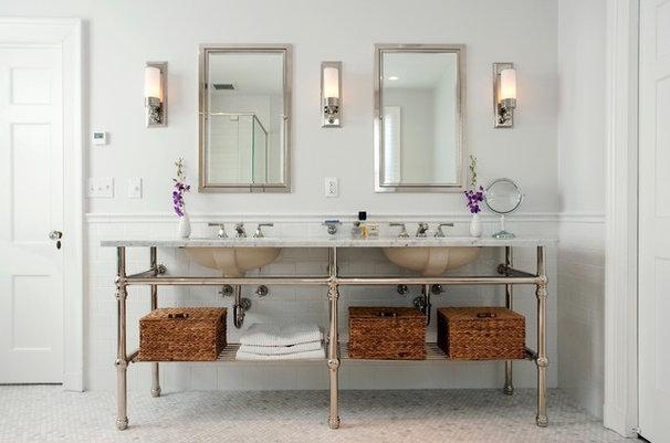Traditional Bathroom by CW Design, LLC