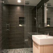 Contemporary Bathroom by CW Design, LLC