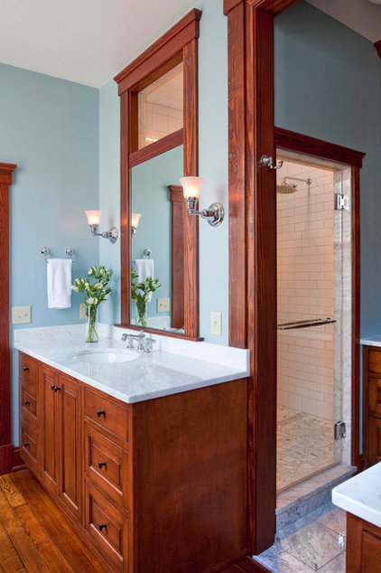 Traditional Bathroom by Cynthia Williams Architect