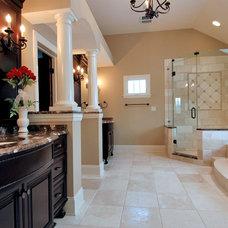 Traditional Bathroom by Cypress Hill Development LLC