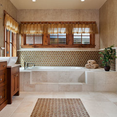 traditional bathroom by Dann Coffey Photography