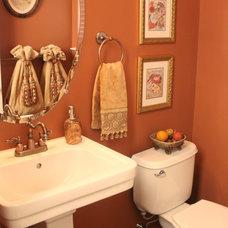 Contemporary Bathroom by Designworks Interiors, LLC
