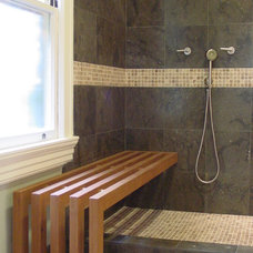 Contemporary Bathroom by Diane Burcz Interior Design
