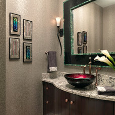 Traditional Bathroom by Directions In Design, Inc.