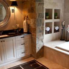 Traditional Bathroom by Dream House Dream Kitchens