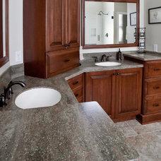 Traditional Bathroom by Dynamic Design-Build LLC
