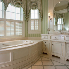 Traditional Bathroom by East End Country Kitchens