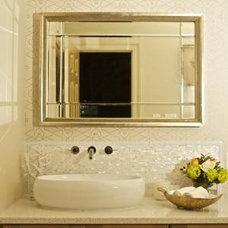 Modern Bathroom by Eclectic Home,LLC