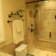 Traditional Bathroom by Ethics Construction Company, LLC
