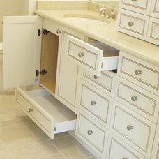 Traditional Bathroom by Inndesign Inc
