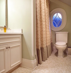 traditional bathroom by Garrison Hullinger Interior Design Inc.