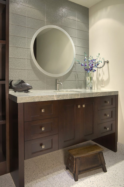 Contemporary Bathroom by GDC Construction