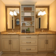 Traditional Bathroom by Green Basements & Remodeling