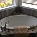 One Piece Acrylic Tub Shower Unit Bathroom Seattle