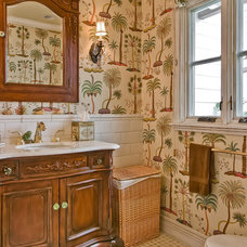 Traditional Bathroom by Howe Custom Home Builders