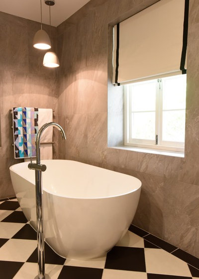 Transitional Bathroom by Ioanna Lennox Interiors