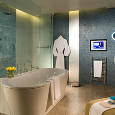 Traditional Bathroom by Irish shower rooms and tiles