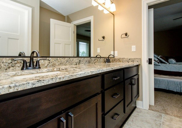 Transitional Bathroom by Ironwood Homes