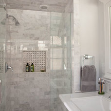 Traditional Bathroom by Italics Tile & Stone