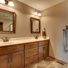 Traditional Bathroom by Iverson Homes