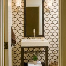 Contemporary Bathroom by Jenna Wedemeyer Design, INC.