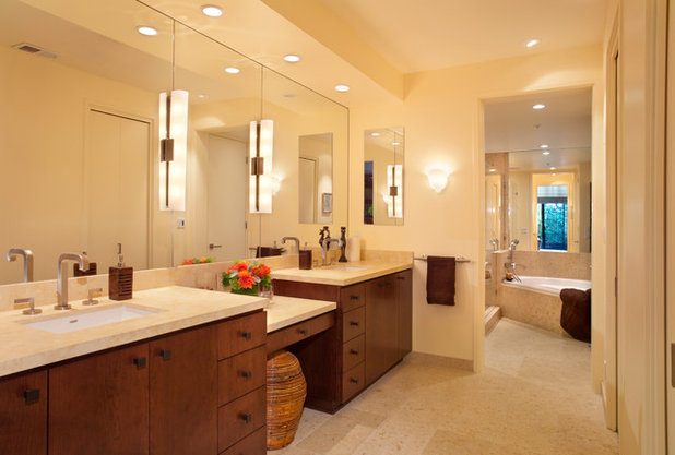 Contemporary Bathroom by Katie Anderson Interior Design Consultants