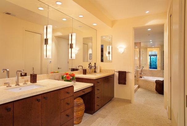 Contemporary Bathroom by Katie Anderson Interior Design Consultants