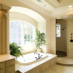 traditional bathroom by Kisarau Architect, LTD.