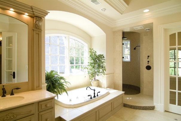 Traditional Bathroom by Kisarau Architect, LTD.
