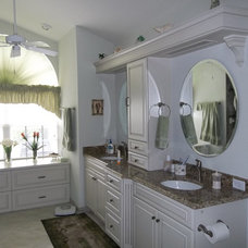 Traditional Bathroom by Kitchen and Bath on the Isle