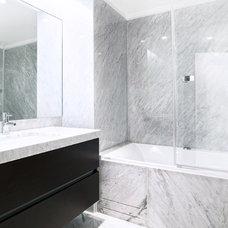 Contemporary Bathroom by Kitchen and Bath Renovators