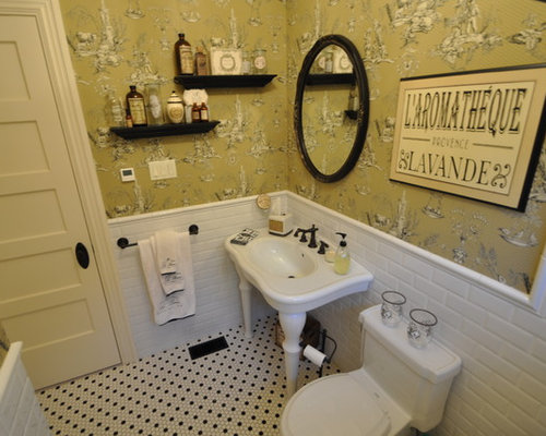 French country bathroom houzz for French bathroom decor