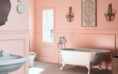 Frossa i färgstarka badrum – här är 19 inspirerande varianter