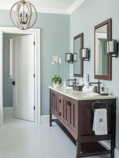 Fotos de baños   Diseños de baños de estilo americano con armarios ...