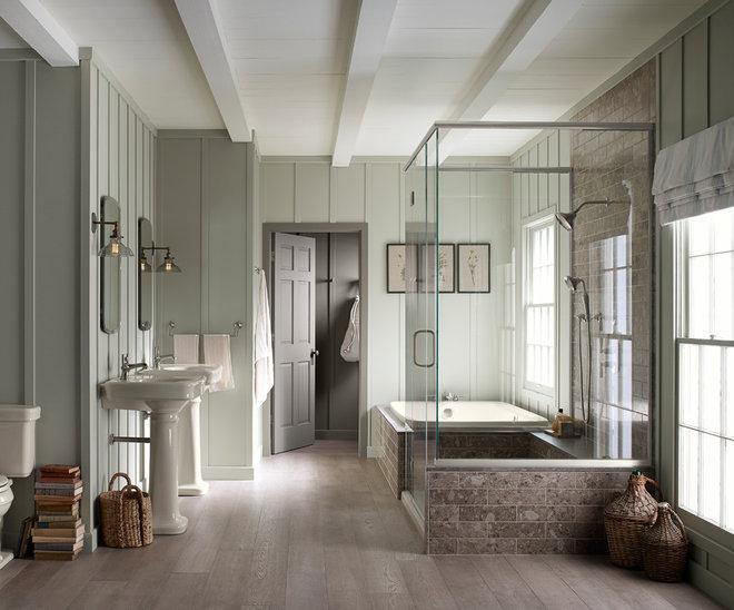 Farmhouse Bathroom by Kohler