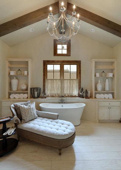12 id es d co pour une jolie salle de bains campagne for Salle de bain jolie