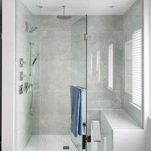 Tiled shower enclosures