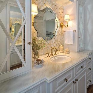Ornate bathroom photo in New York