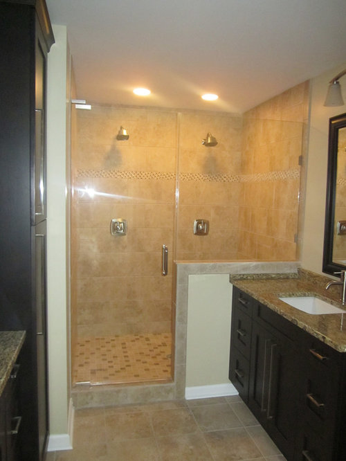 Charlotte Bathroom Design Ideas Renovations Photos With Raised Panel Cabinets