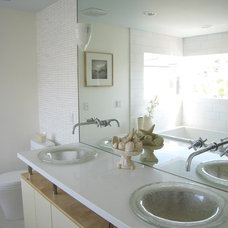 Beach Style Bathroom by Lori Dennis, ASID, LEED AP