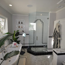 Traditional Bathroom by LOTUS BUILDERS, INC