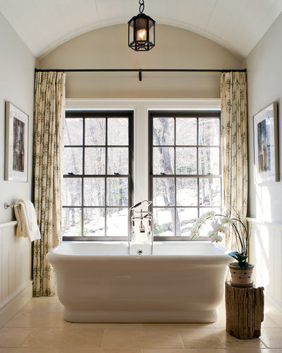 Traditional Bathroom by Mark P. Finlay Architects, AIA
