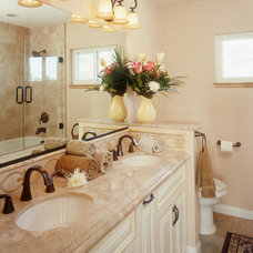 traditional bathroom by Marrokal Design & Remodeling
