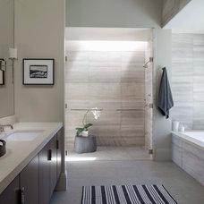 Contemporary Bathroom by Elizabeth Martin Design